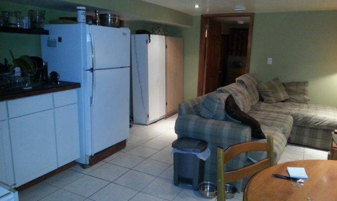 Furnished One Bedroom Basement Apartment Queen Near