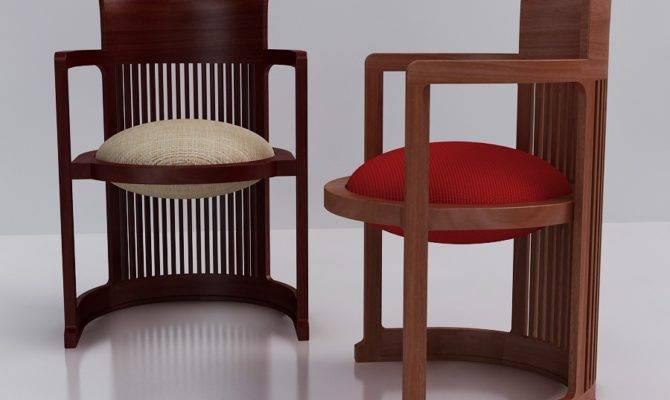 Furniture Adorable Cherry Wood Frank Lloyd
