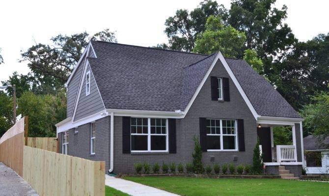 Gable Roofing Roof House Brick Siding