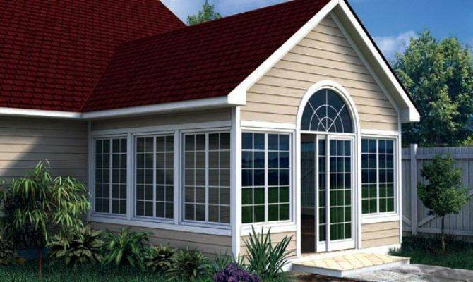 Gabled Sunroom Addition Plan Joy Studio Design
