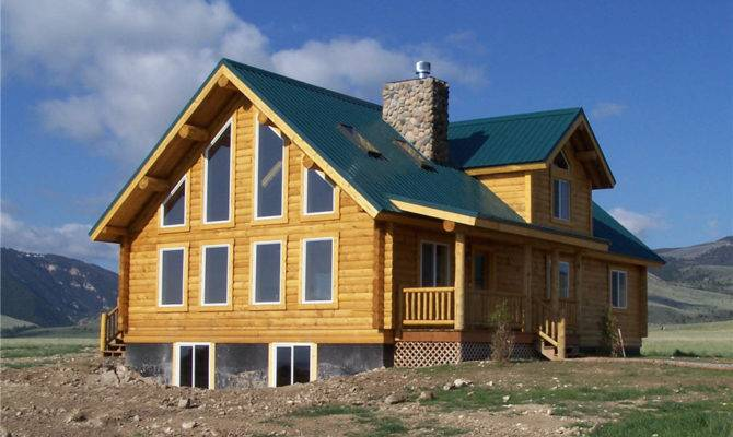 Gallatin Floor Plan Cowboy Log Homes