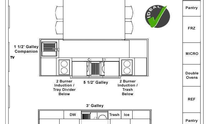 Galley Kitchen Designs Floorplans Home Design