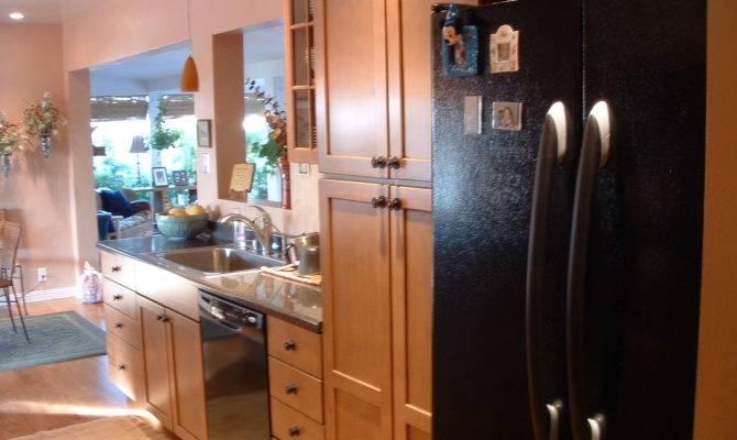 Galley Kitchen Open Floorplan Remodel Home Remodeling