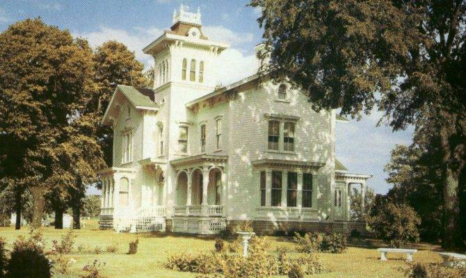 Galloway House Victorian Country Home Noted Its Elaborate Carved