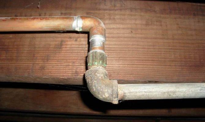 Galvanized Plumbing Pipe Water