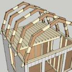 Gambrel Roof Design Hip Shed Plans Roofs