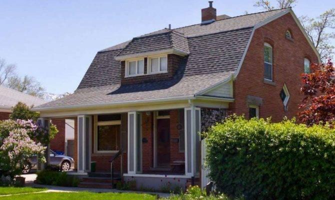 Gambrel Roof Dormer House Brick