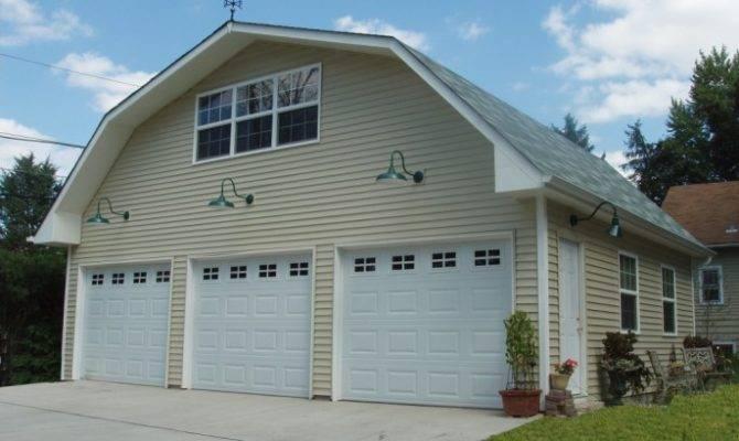 Gambrel Roof Garage Plans