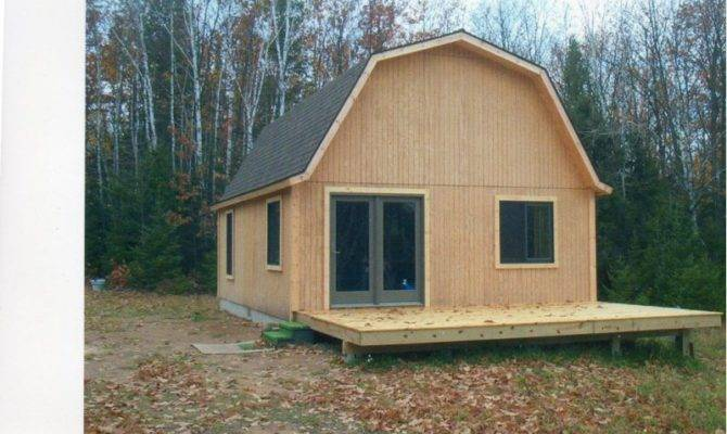 Gambrel Roof Trusses Small Cabin Forum