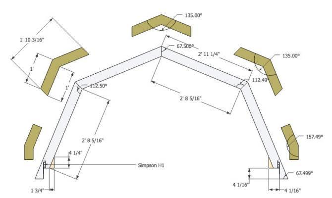 Gambrel Roof Trusses Tinyhousedesign Micro