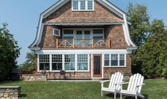 Gambrel Style House Exterior Victorian Shingle Siding