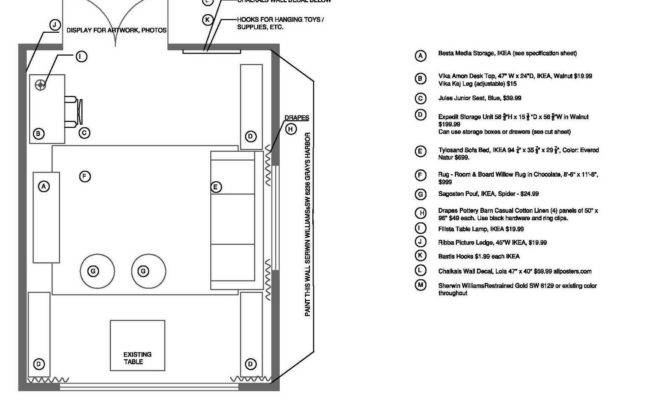 Game Room Floor Plans