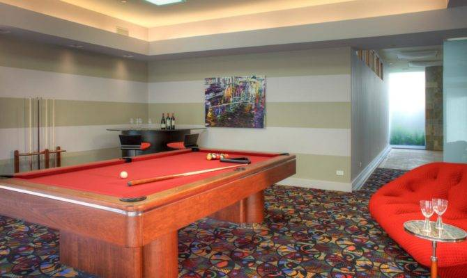 Game Room Pool Table Hgtv