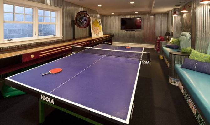 Game Room Traditional Minneapolis