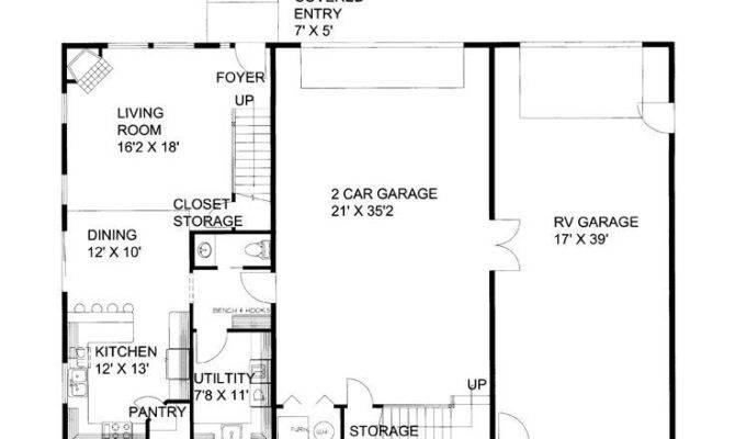 Garage Apartment Floor Plan Camper