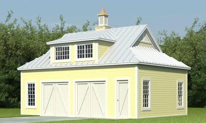 Garage Apartment Plans Barn Style Plan
