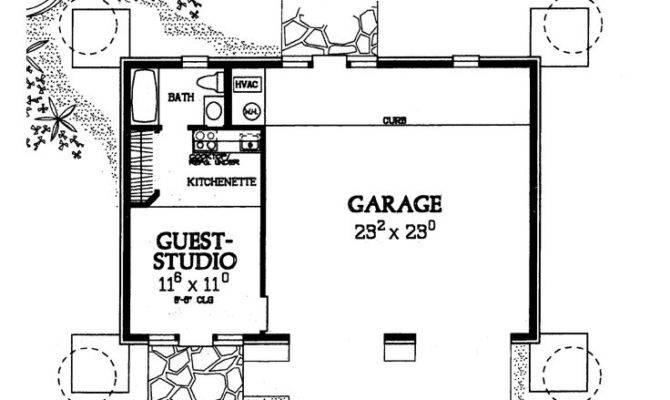 Garage Apartment Plans Car Plan Guest