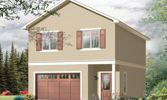 Garage Apartment Plans Carriage House Plan Single Car
