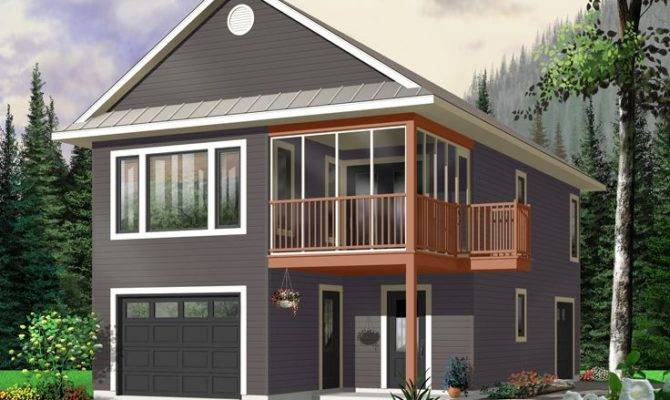 Garage Apartment Plans Carriage House Plan Tandem