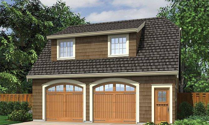 Garage Apartment Plans Craftsman Style Car
