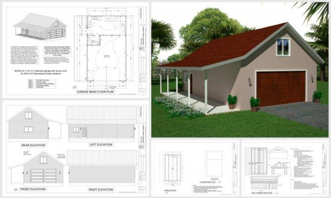 Garage Apartment Plans Living Space Over Home
