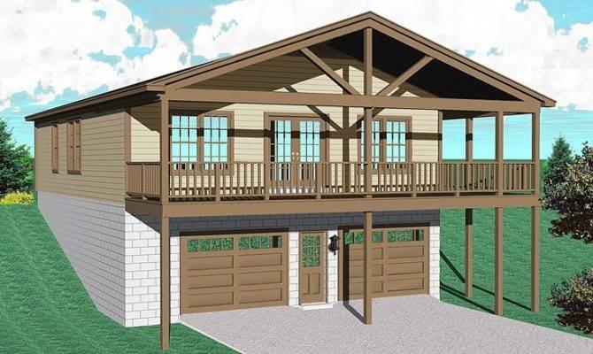 Garage Apartment Plans Plan Makes Cozy Lakeside