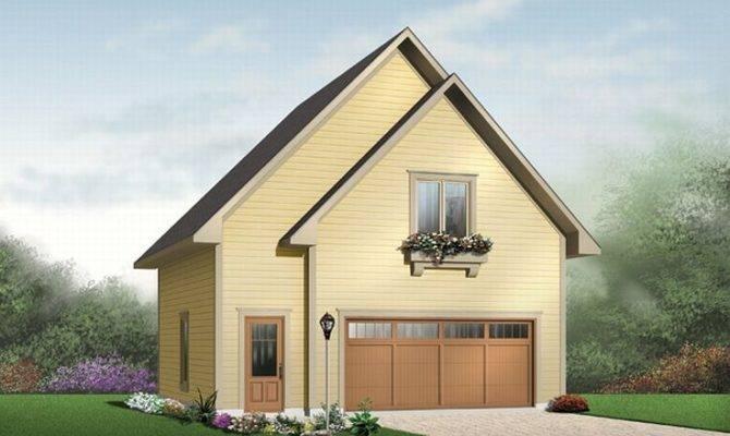 Garage Apartment Plans Two Car Plan