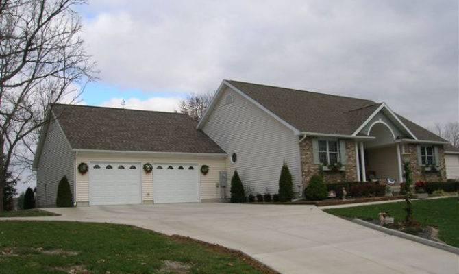 Garage Attached House Home Desain