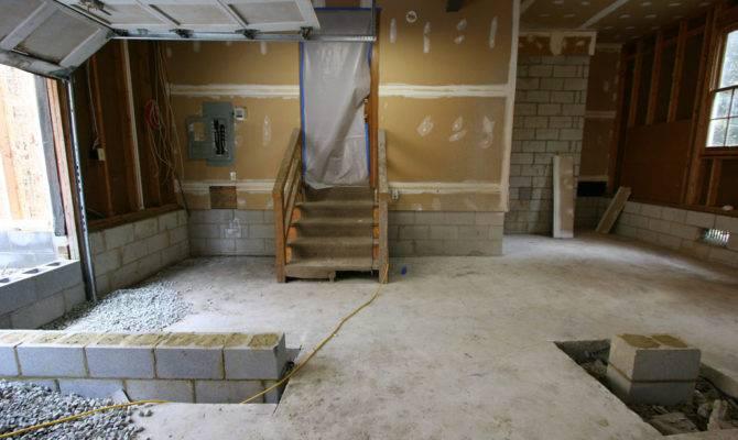 Garage Conversion Living Space Richmond Remodel