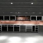 Garage Designs Modern Storage System Grey Ceiling White Floor