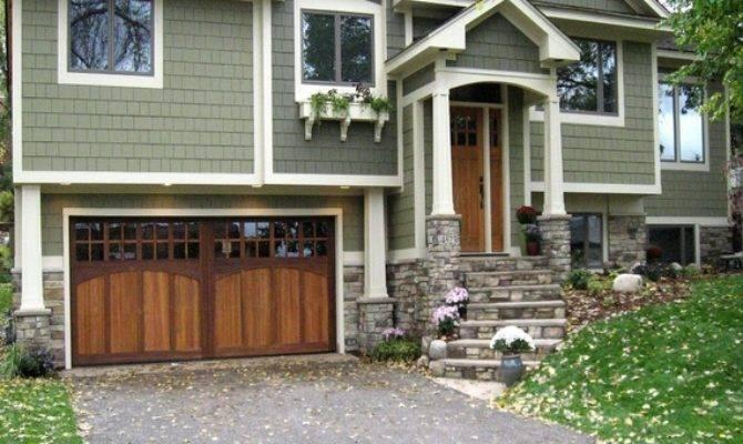 Garage Door Remodel Tri Level Homes Split