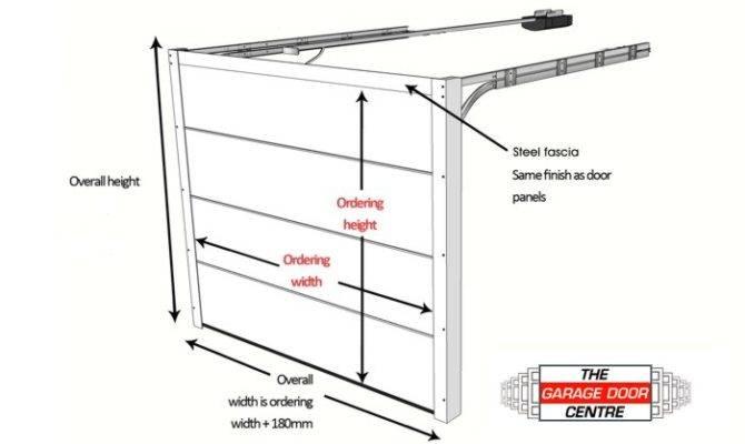 Garage Door Sizes Guide Over Doors Roller Sectional Side