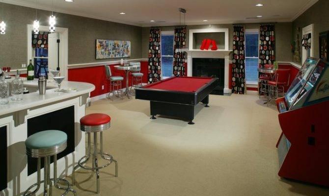 Garage Game Room Decorating Ideas