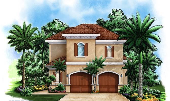 Garage House Plan Two Story Floor Weber Design Group