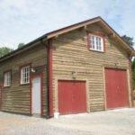 Garage House Vallentuna Sweden Baltic Wood Houses