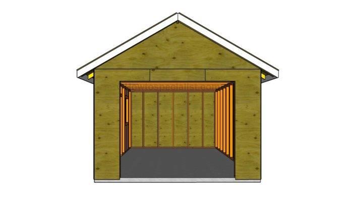 Garage Howtospecialist Build Step Diy Plans