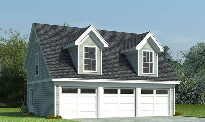 Garage Loft Plans Car Plan Cape Cod