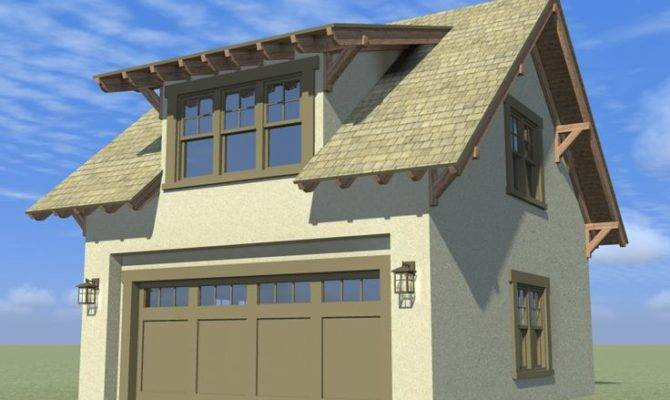 Garage Loft Plans Craftsman Style Plan