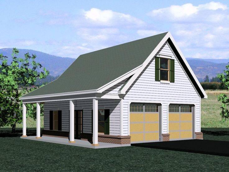 Garage Loft Plans Two Car Plan Country