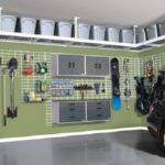 Garage Loft Shelving Part Apartments Basic