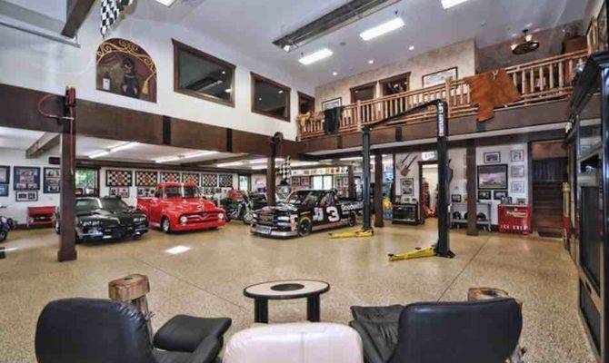 Garage Man Cave Goals Take Look These Glorious Garages