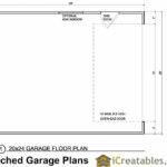 Garage Plan Floor Plans Shown Optional Features