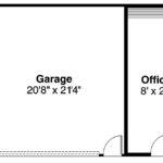 Garage Plan Left Elevation Office Right
