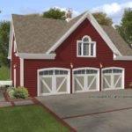 Garage Plan Square Feet Bedroom Dream Home Source