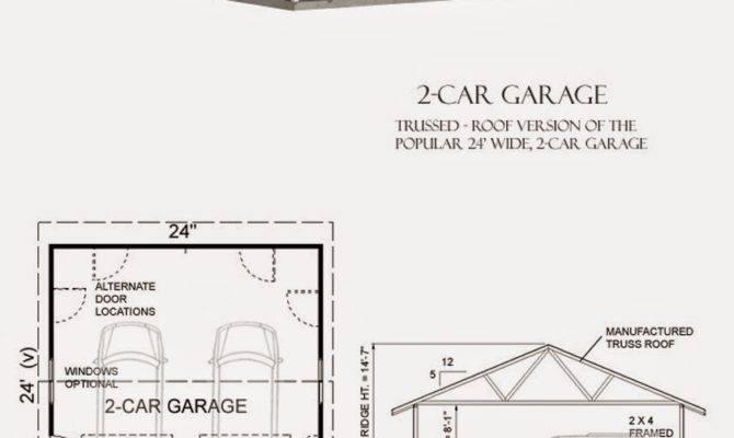 Garage Plans Blog Behm Design Plan Examples