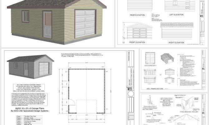 Garage Plans Blueprints