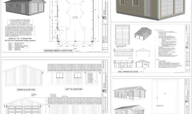 Garage Plans Dwg Pdf
