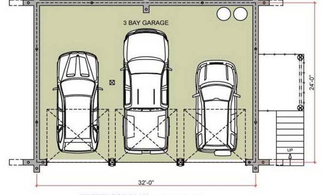 Garage Plans First Floor Design Stroovi