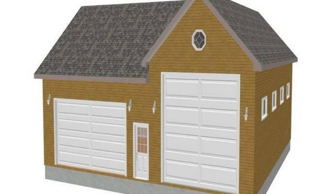 Garage Plans Large Door Pin Pinterest