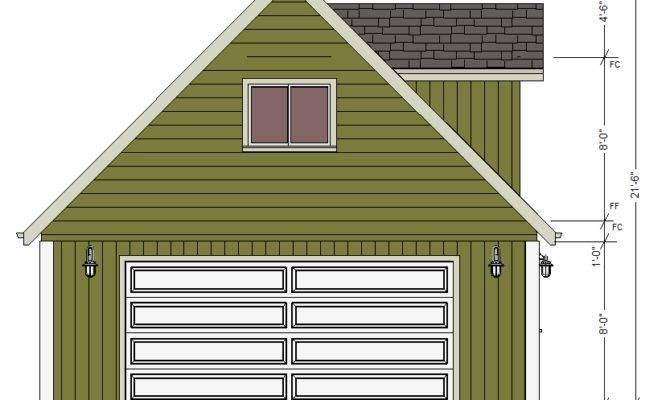 Garage Plans Loft Dormers Dwg Pdf